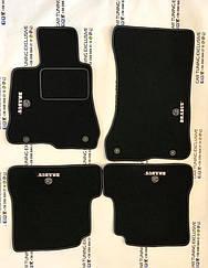 BRABUS floor mats for Mercedes S-class W221