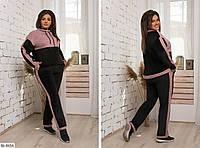 Стильный женский спортивный костюм на весну размеры 48-54 BL-8656