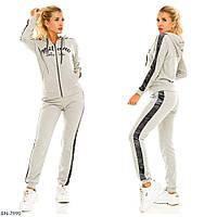 Стильный женский спортивный костюм размеры 50-56 BN-7990