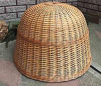 Габаритная люстра плетеная | люстра из лозы лакированая  /плетеной светильник для магазина, фото 1