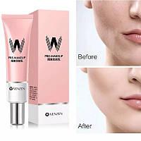 Выравнивающая и увлажняющая база-праймер под макияж Venzen Pre-Makeup, 30 г
