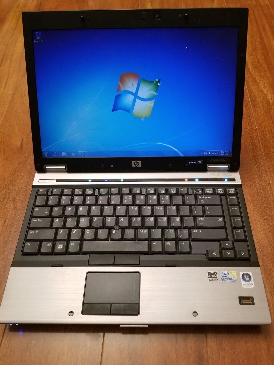 Ноутбук, notebook, HP Elitebook 6930p, 2 ядра по 2,4 Ггц, 2 Гб ОЗУ, HDD 250 Гб