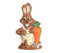 Форма для шоколада 3D — Зайчик с морковкой