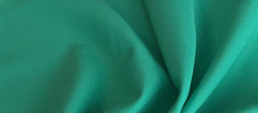 Ткань Габардин зеленая мята TG-0005