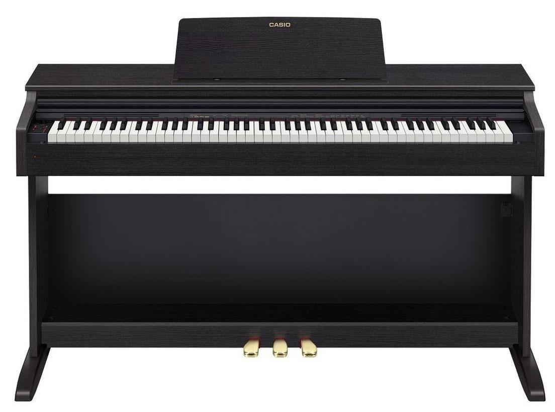 Цифровое фортепиано Casio Celviano AP-270BK (черное), также можно заказать коричневое или белое.