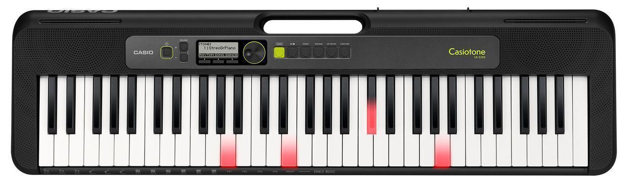 Синтезатор CASIO LK-S250 с подсветкой клавиш