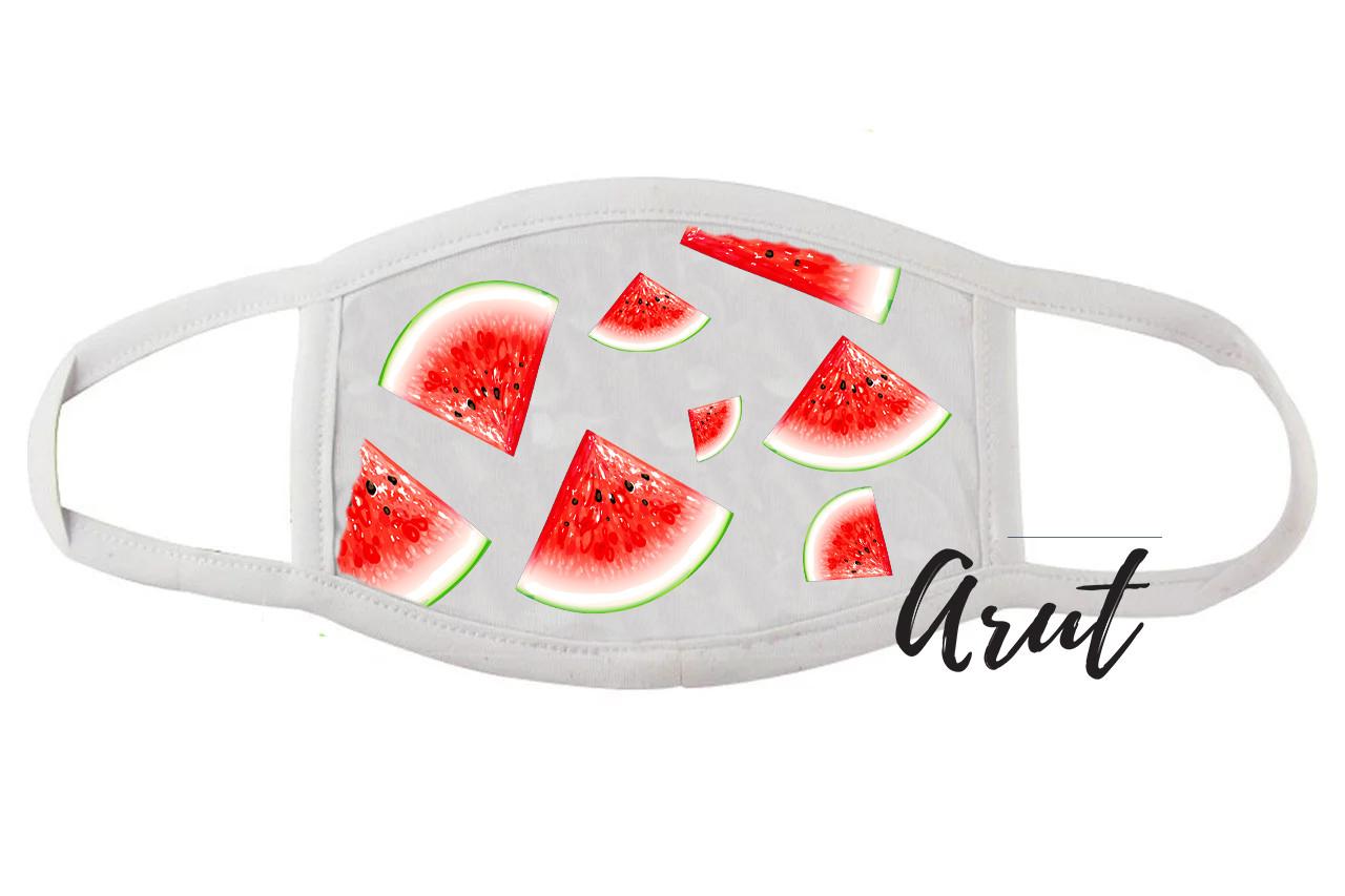 Стильная маска для лица Немного лета: Арбузики