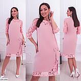 Стильное платье   (размеры 50-62) 0235-95, фото 2