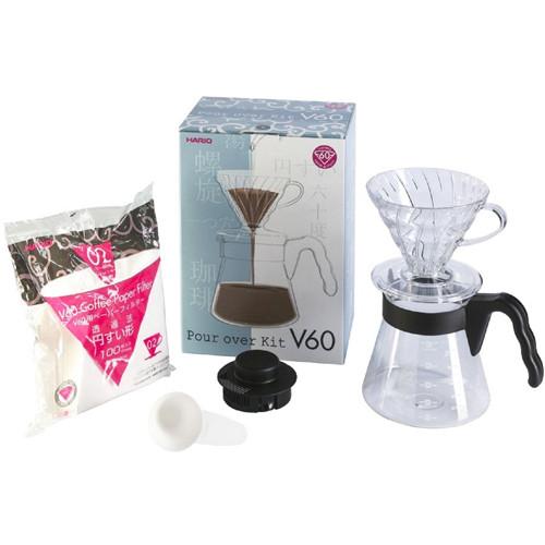 Набор Hario V60 для заваривания кофе (VCSD-02B-EX)