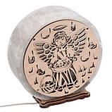 Соляной светильник круглый Ангел 2, фото 4