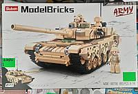 """Детский конструктор  """"Танк М38"""" Sluban 823 деталей"""