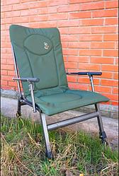 Рыболовное карповое  кресло Elektrostatyk F8R (спинка не регул.) (Польша)