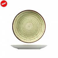 Тарелка фарфоровая мелкая цветная Kutahya 250мм