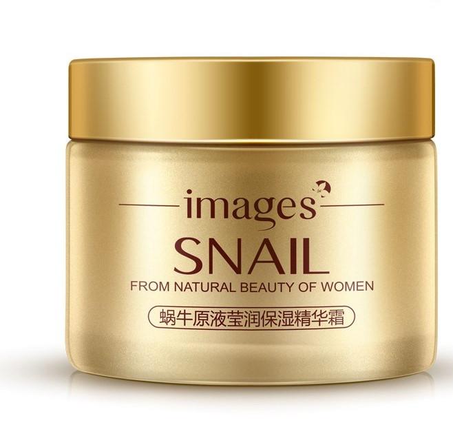 Увлажняющий лифтинг крем для лица с муцином улитки Images Snail