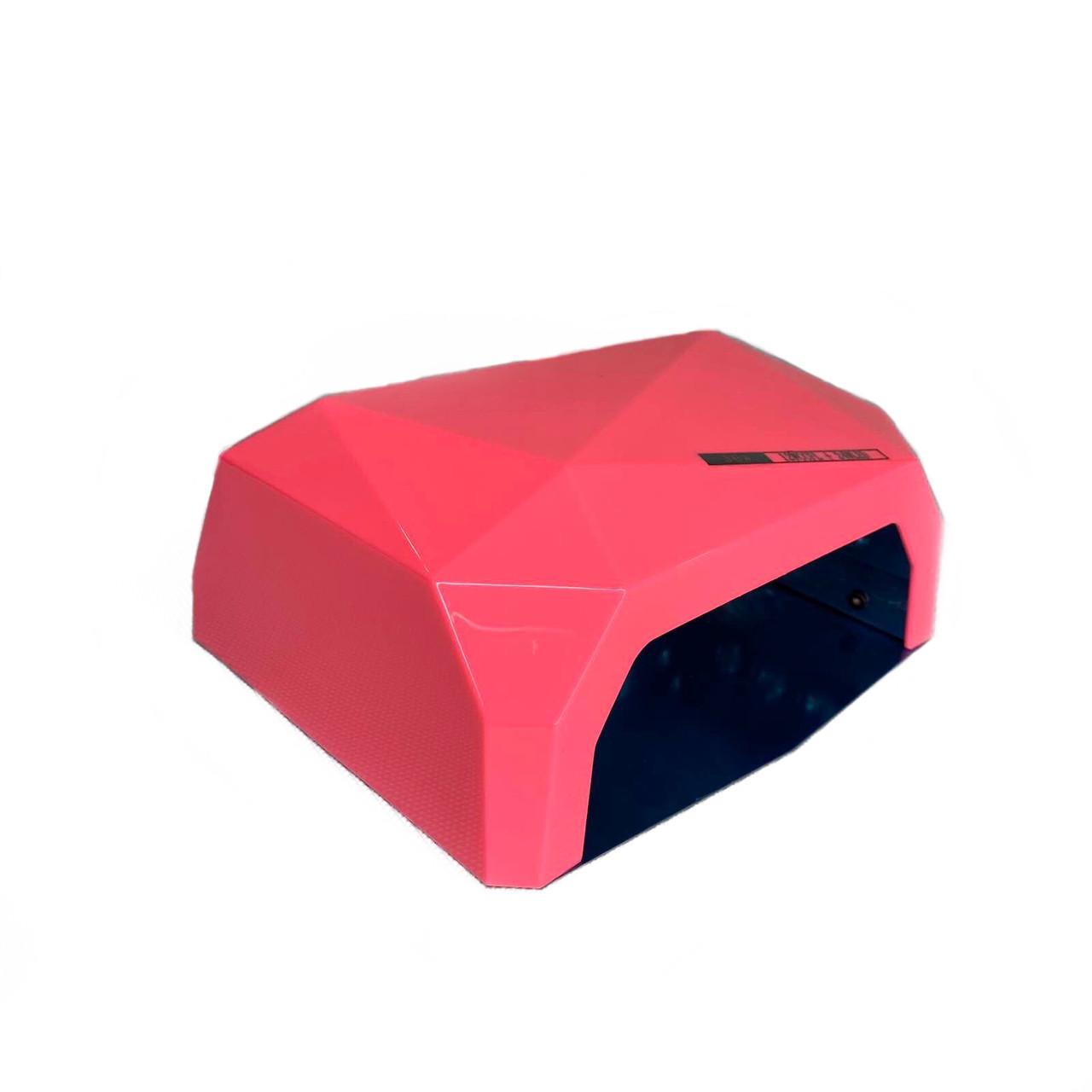 Лампа гибридная Diamond CCFL + LED   (36 W) розовая