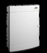 Модульний щиток, що вбудовується, біла дверцята Noark PNF 12W, IP40, 1 ряд, 12 модулів