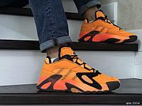 Кроссовки Мужские Хит Весна Оранжевые в стиле Adidas Streetball