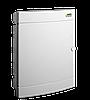 Модульний щиток, що вбудовується, біла дверцята Noark PNF 18W, IP40, 1 ряд, 18 модулів