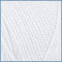 Пряжа для вязания Valencia Bambino цвет-0601 (WHITE)