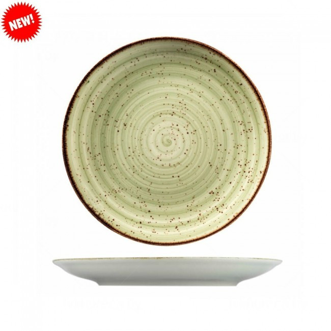 Тарелка фарфоровая мелкая цветная Kutahya 300мм