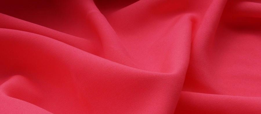 Ткань Габардин розовый неон TG-0012