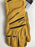Кожаные мотоперчатки Summer Glory Ocher A20 итальянской марки SPIDI размер L