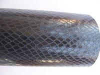 Пленка под кожу змеи черная 152 см