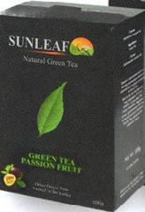 Чай зелёный ( заварной) SUNLEAF  с маракуйей100 грамм