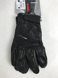 Кожаные мотоперчатки OLD Glory Black A207 итальянской маркиSPIDI  размер L