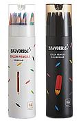 Набор цветных карандашей Xiaomi Bravokids 24 цв.(Обычные + Водняны) (601960)
