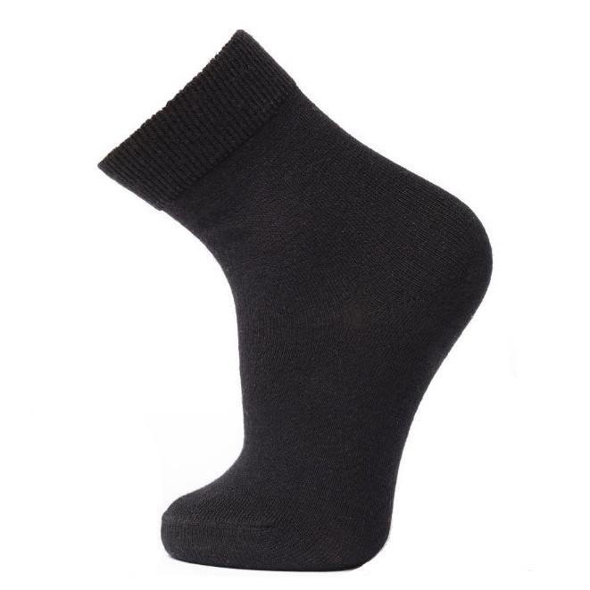 Термоноски детские NORVEG Merino Wool (размер 19-22, чёрный)