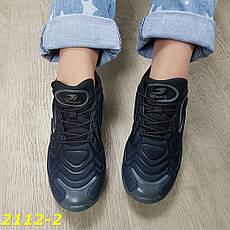 Женские черные кроссовки на амортизаторах, р.37,38, фото 2