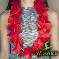 Гавайские леи Орхидеи красные