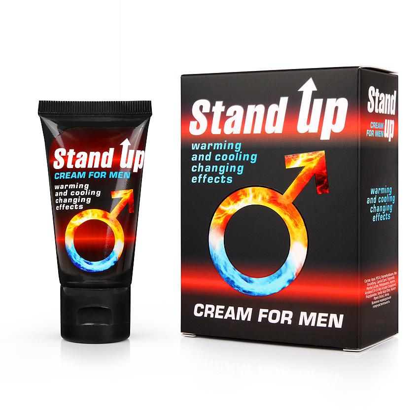"""Крем """"Stand up"""" возбуждающий и продлевающий для мужчин 25 г"""