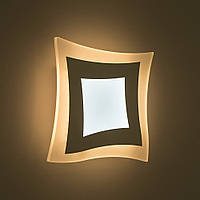 Настенный светодиодный светильник, бра LUMINARIA GEOMETRIA QUARTO 18W Q-210-WHITE-220-IP44