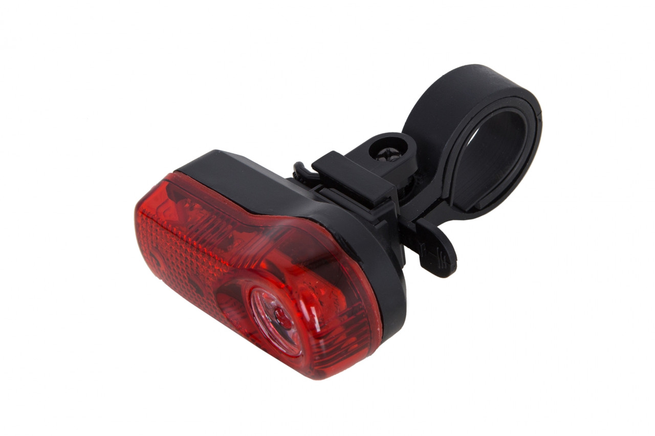 Фонарь габаритный PL310DR красный свет с линзой Pl (черный корпус)