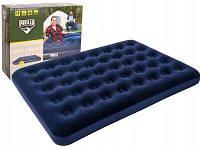 Надувная кровать матрас покрытая флоком Bestway 67002  191х137х22см, фото 1