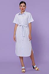 GLEM платье-рубашка Дарья-3 к/р
