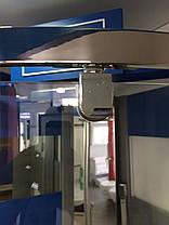 Душевая полукруглая кабина Dusel™ A-1105 90х90х190, прозрачная, фото 3