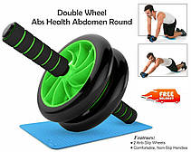 Фитнес колесо Double wheel Abs health abdomen round WM-27- Новинка, фото 3
