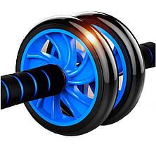 Фитнес колесо Double wheel Abs health abdomen round WM-27, фото 2