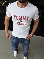 Брендовая мужская футболка TOMMY JEANS, отличное качество. Размеры: 48(S), 50(M), 52(L), 54(XL), 56(XXL)