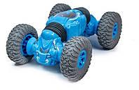 Машина-перевертыш на радиоуправлении J3255, голубая