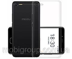 Чехол силиконовый прозрачный для Meizu E2, 0.5mm