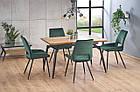 Стол обеденный деревянный CAMBELL Halmar дуб/черный, фото 2
