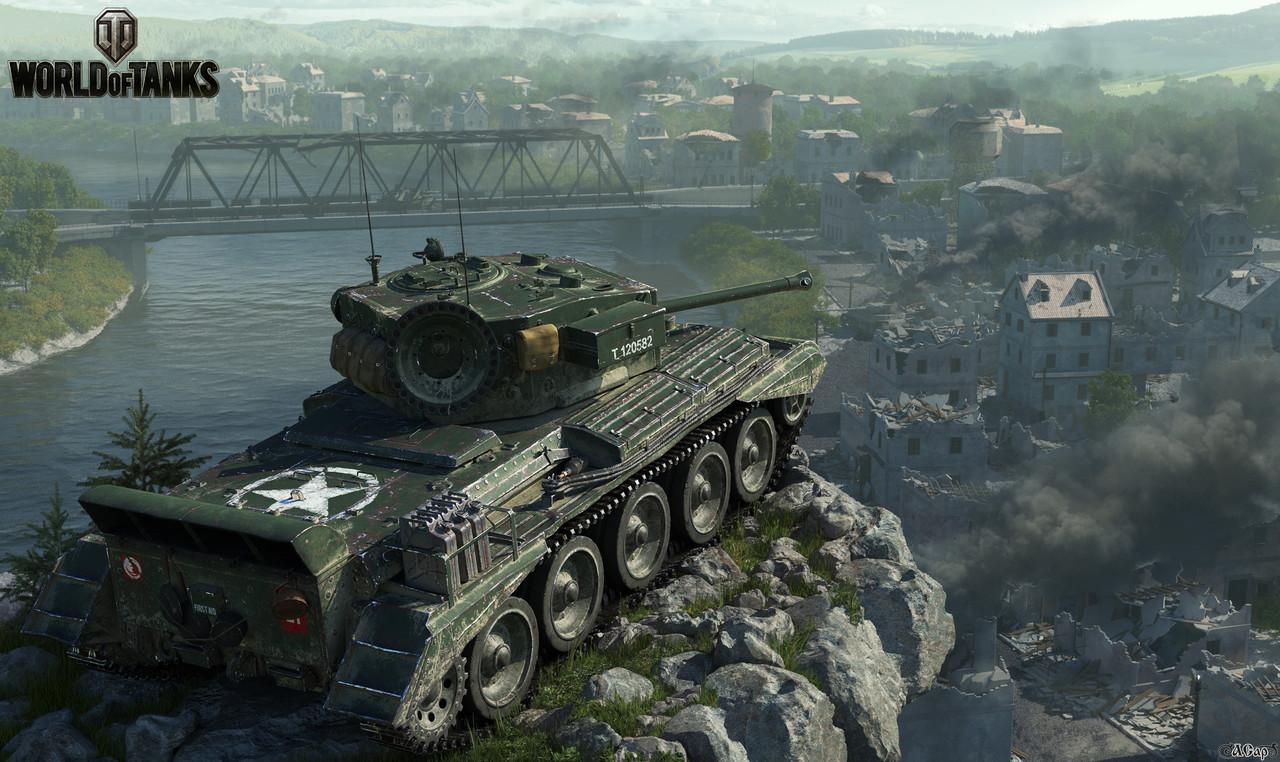 Коврик для мыши World of tanks Cromwell B