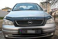 Дефлектор капота (мухобойка) Opel Astra G 1998-2012