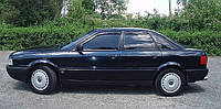 Дефлекторы окон (ветровики) AUDI 80 1986-1995