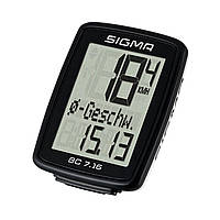 Велокомпютер Sigma Sport BC 7.16 Black SKL35-187531