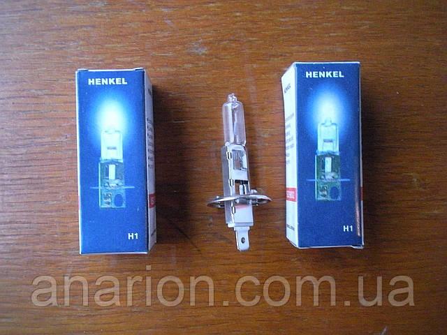 Автолампа Henkel H1 12V 55W. P14,5s (1 шт)